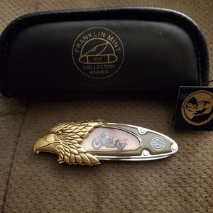 Franklin mint harley davidson us army 45 collector